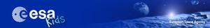 Headerbild: Webseite der ESA
