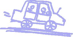 Gemaltes Bild: Auto
